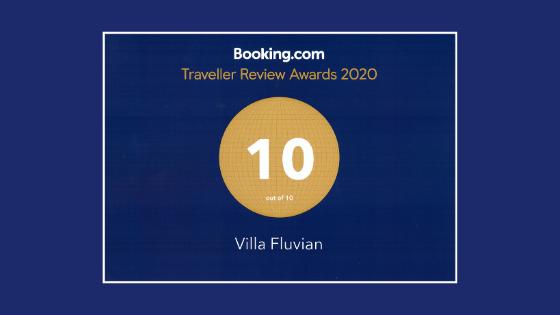 villa fluvian traveller awards